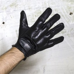 Defender Leather Padded Gloves