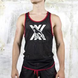 AirCool Dog Vest - black/red