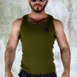 X-Vest Gym Canalé - Khaki