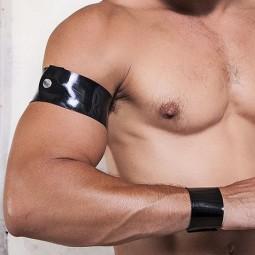 Rubber armband - black
