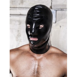 Rubber Mask Open 0,6mm Black
