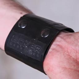 Rubber Wrist Wallet - black