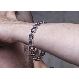 Motorbike Chain Bracelet -...