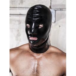 Rubber Mask Open 0,6mm Black