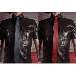 Leather Tie - colours