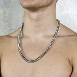 Cube linked 60cm chain  -...