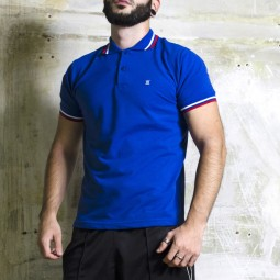 X-Polo Royal Blue / Red /...