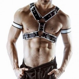 MEGA HARNESS - White