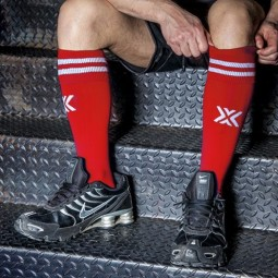 Boxer Football SOX (Red/White)