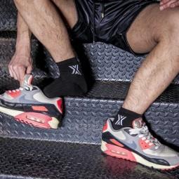 Sneaker Sox Black/White