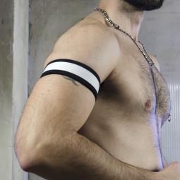 Neo Bold Armband White