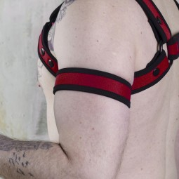 Neo Bold Armband Red