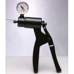 Cock Pump with Pressure Gauge