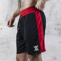 Football Short - Black/Red