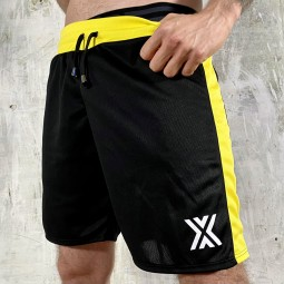 Football Short - Black/Yellow