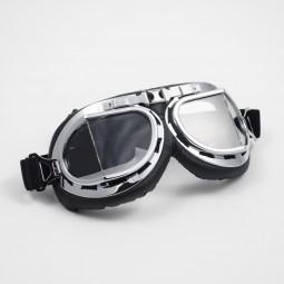 Pilot Goggles - Silver