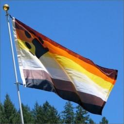 Bear Pride Flag 90 x 150cm