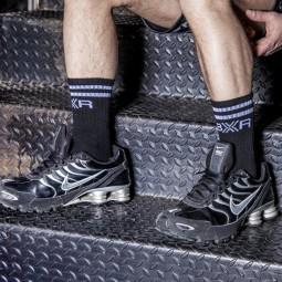 BXR Tennis sox - black/white