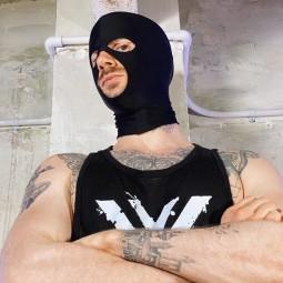 Lycra Gimp Mask -...