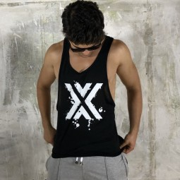 X Grafity Open Vest - Black