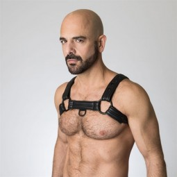 Neoprene Bulldog Harness -...