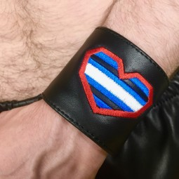 Leather Wristband, Leather...