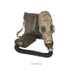 Russian Gas Mask with hose...