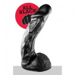 All Black Dildo 27,5cm (AB66)