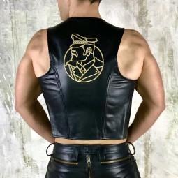 Vintage Plain leather...
