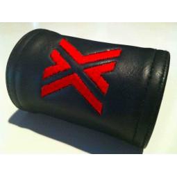 Zipper Wallet 9cm, Red X