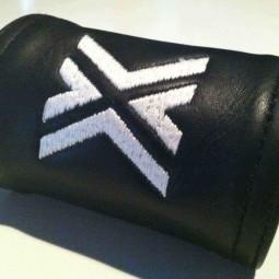 Zipper Wallet 9cm, White X