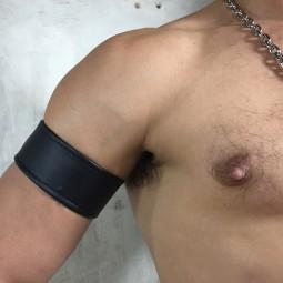 Simple Leather Armband -...