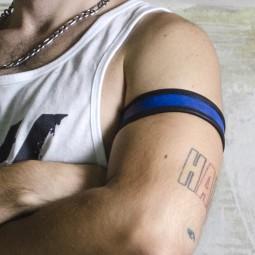 Reversible Leather Armband...