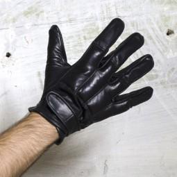Defender Leather Padded Gloves