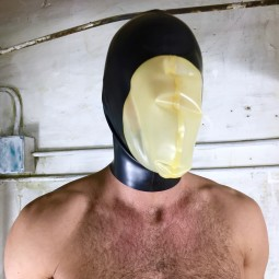Rubber Balloon Mask Open...