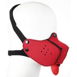 Puppy Neo Muzzle - Red -...