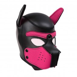 Puppy Neo Hood - Pink - S/M